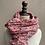Thumbnail: Écharpe fleurie rose