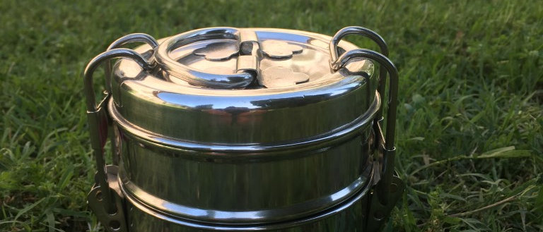 Lunch box en inox petit modèle