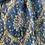 Thumbnail: Écharpe fleurie bleu vert