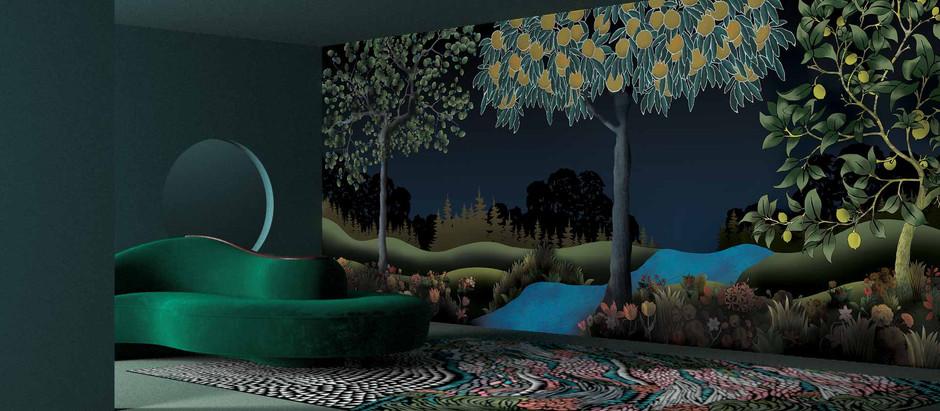 Bien-être à la maison avec Le poète designer Sacha Walckhoff et la Maison YO2