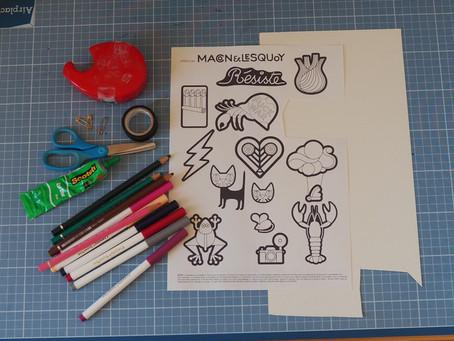 Le tuto de Macon&Lesquoy pour réaliser des broches en carton !