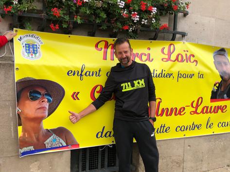 Loïc - Anne-Laure : des retrouvailles pour la bonne cause…