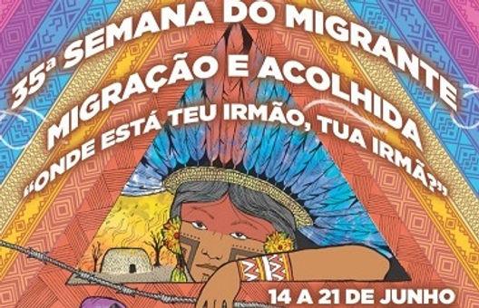 35ª Semana do Migrante terá programação on-line e mobilização nas redessociais