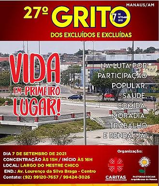 Manaus, tudo certo para o 27º Grito