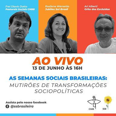 As Semanas Sociais Brasileiras: Mutirões de transformações sociopolíticas