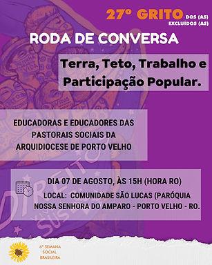 Porto Velho realiza sua IV Roda de Conversa