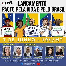 Pacto pela vida e pelo Brasil: Dia D do Grito em Mato Grosso