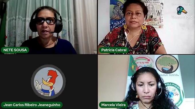 Voz da Amazônia debate eixo 1 do 27º Grito