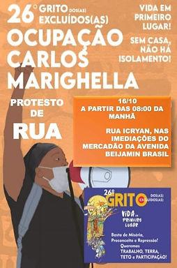 Fortaleza/CE: ato contra o despejo de 85 famílias