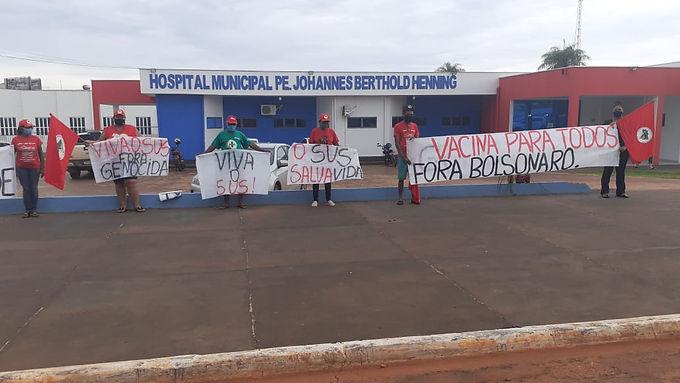 Mato Grosso: carta aberta em defesa da vida e do SUS