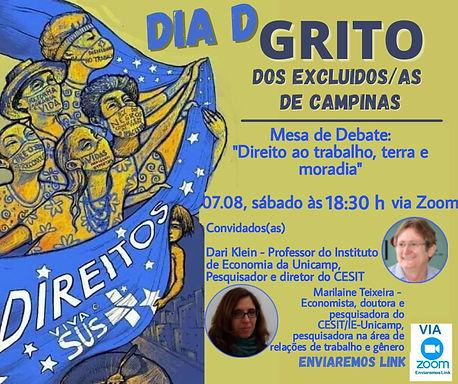 Dia D do Grito, em Campinas/SP