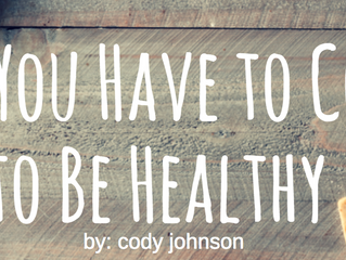 Why You Have to Cook to Be Healthy