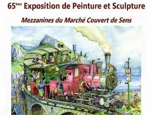 65 eme exposition de peinture et de sculpture des amis des Arts de Sens