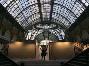Dépôt des oeuvres au Grand Palais: Art Capital dans 2 jours!!!!