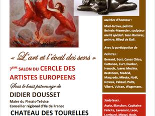 Exposition du Cercle des Artistes Européens au Château des Tourelles!