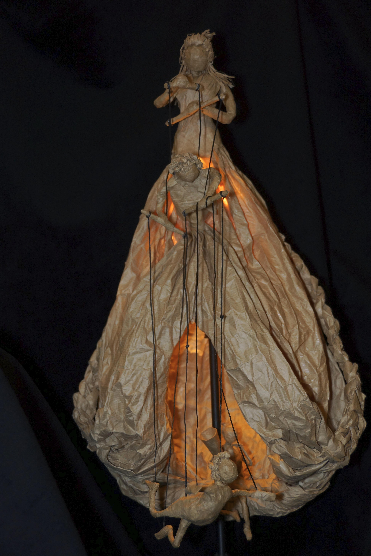 Lampe marionnettiste