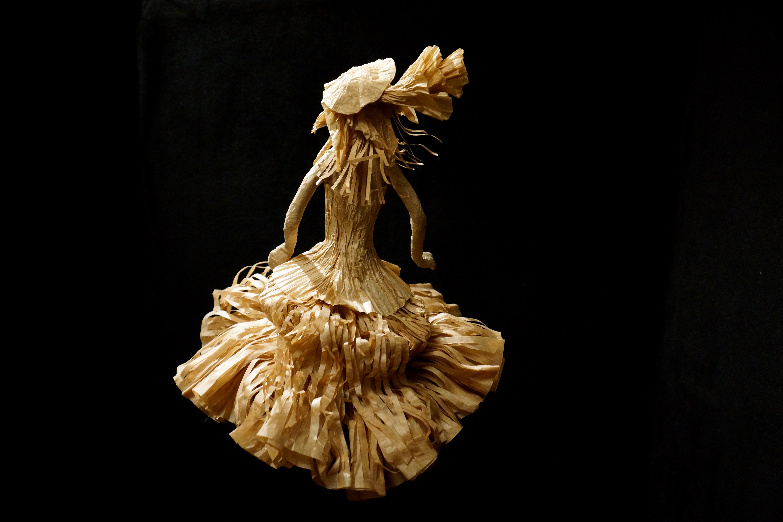 Dame robe bouffante