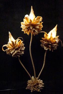 Lampe Fleurs