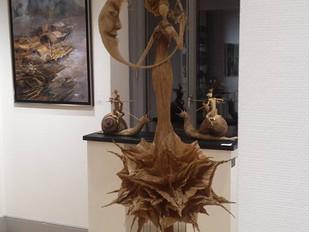 3ème prix de sculpture du 7ème Salon du Cercle des Artistes Européens!