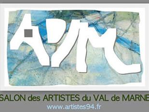 Du 17 novembre au 3 décembre 2017: Le Salon des artistes du Val de Marne à St-Maur des fossés.