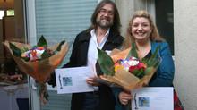 1er prix du public en sculpture au salon de Bussy-St-Martin!!