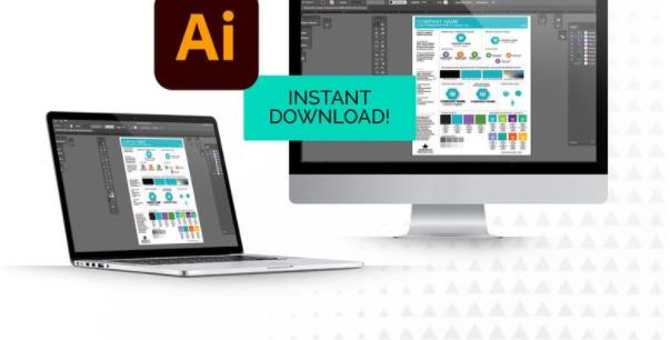 Branding Style Guide Illustrator Template