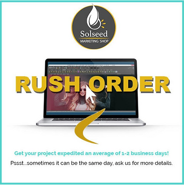 Rush Order   Custom graphic design