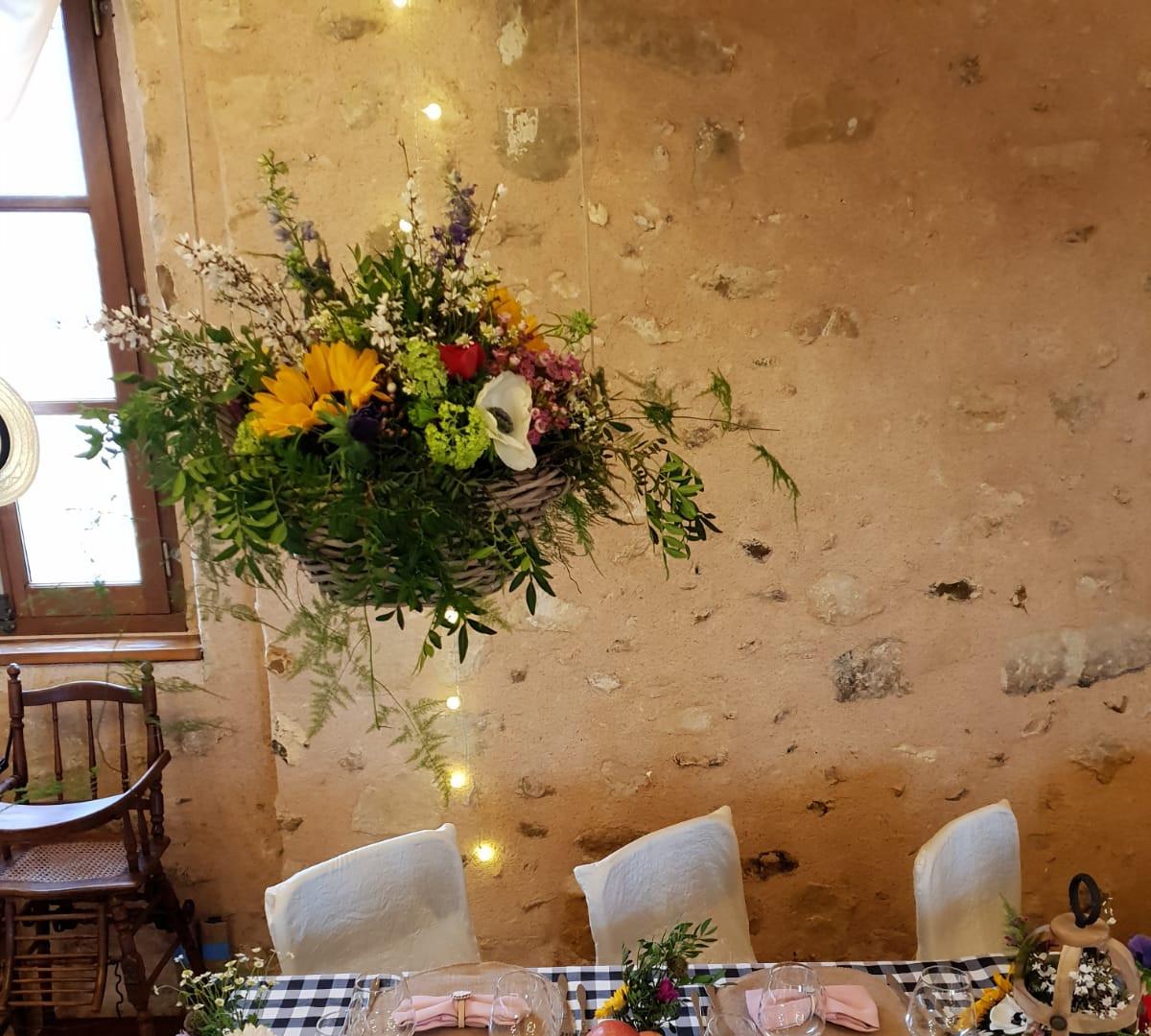 table de fete décoration envènementielle