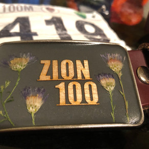 Zion 100 miler 4/10/2021: Awe inspiring, draining, wonderful... all of that stuff and more.