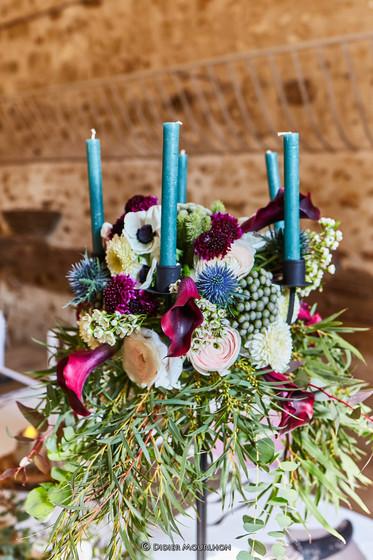 Art floral Chandelier