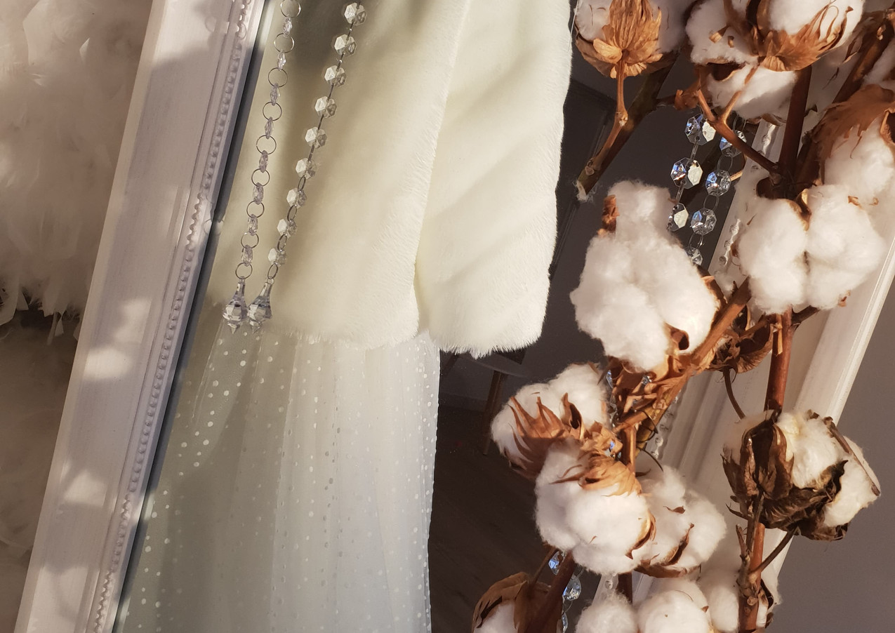 Merchandising Robe Mariee Hiver