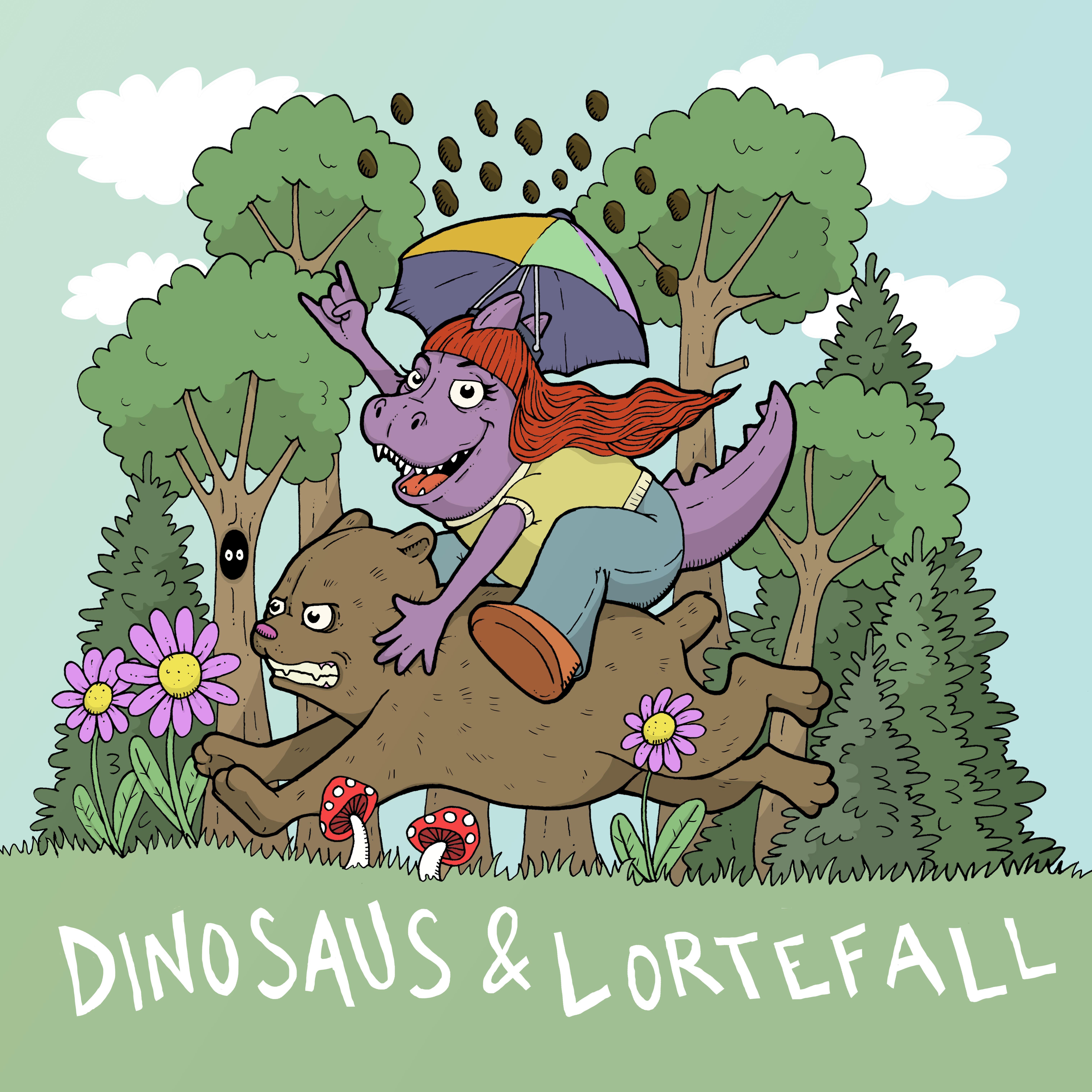 Cover art Dinosaus