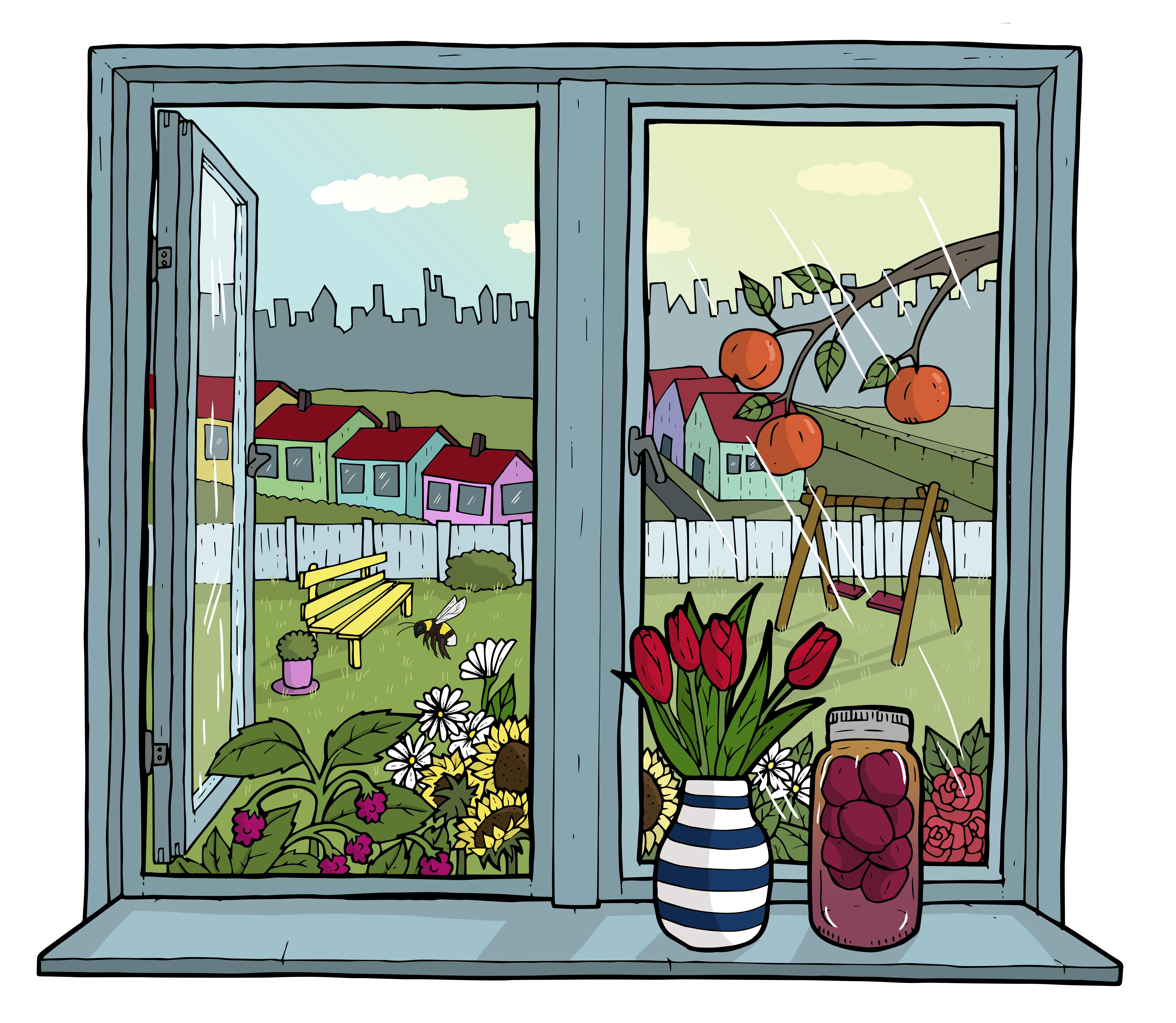 Illustration for Boligbyggelaget