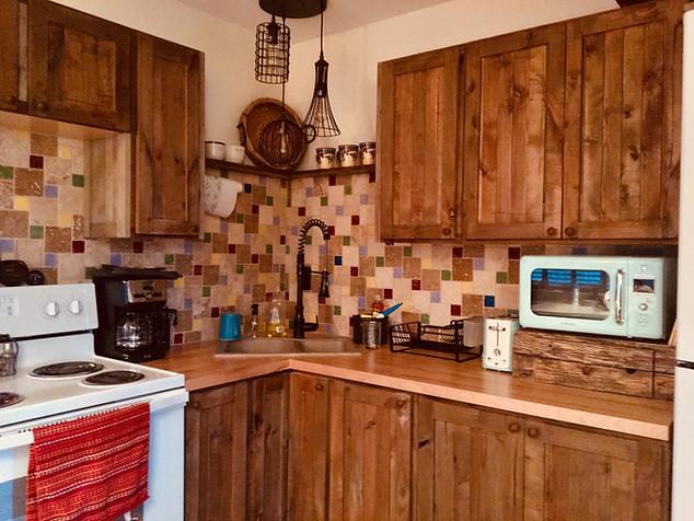 Trailside Cabins Kitchens