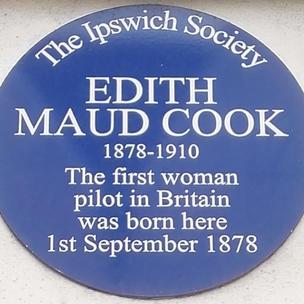 Edith Maud Cook Plaque