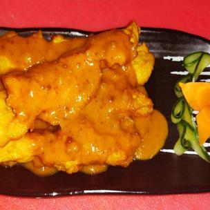 7 - Satay Chicken Skewers