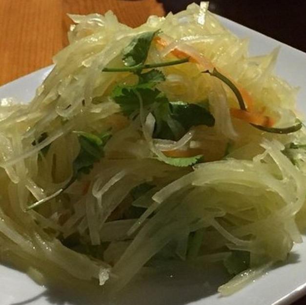 16. Fresh Shredded Potato with Chilli