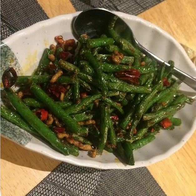 69 - Sauteed Green Beans with Chilli