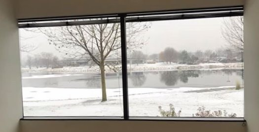 Warrenville's Winter view
