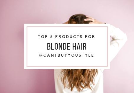 5 Best Products For Blonde Hair + Extensions