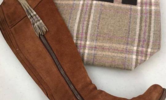 Tweed Boot Tassels