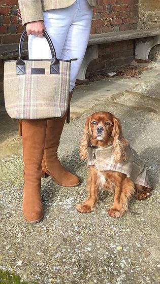MINKEYS TWEED DOG COATS .jpg