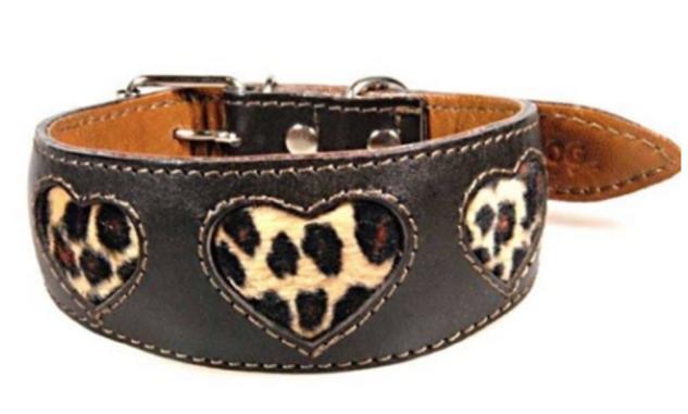 Jaguar Heart Collar