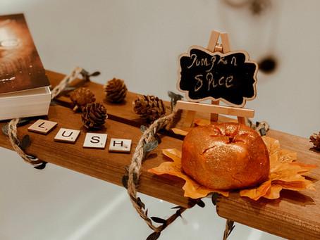 Blogtober Day 3: Lush Pumpkin Bubble Bars
