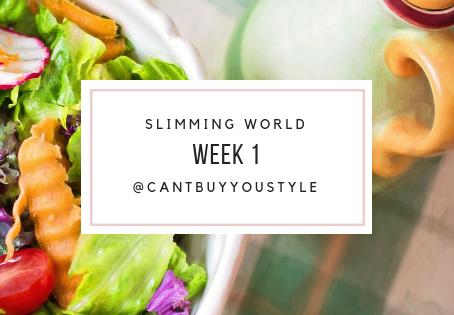 Slimming World: Week 1