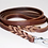 Thumbnail: Plaited and Flat Leather Dog Leads