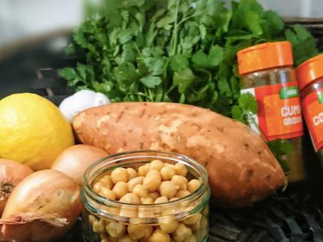 Blogtober Day 8: Autumn Snacks - My Fave Sweet Potato Falafel Recipe