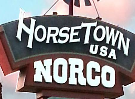 Riding in Norco, Horsetown USA