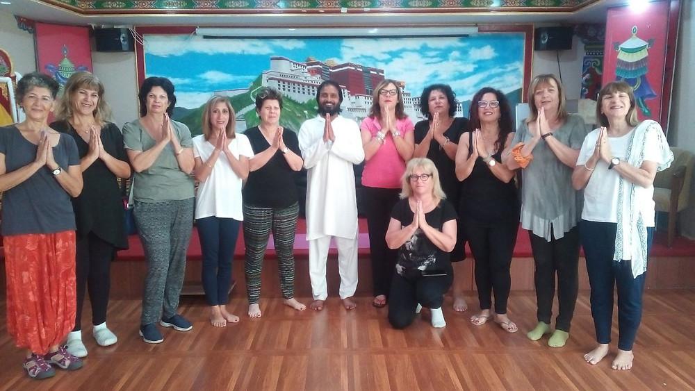 200 Hour Yoga Teacher Training Students