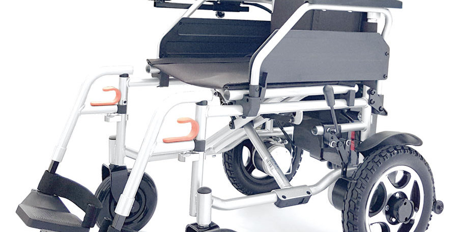 Der faltbare Reise-Elektro-Rollstuhl